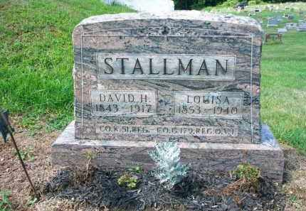 STALLMAN, DAVID H. - Holmes County, Ohio | DAVID H. STALLMAN - Ohio Gravestone Photos