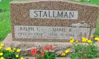 STALLMAN, MARIE K. - Holmes County, Ohio | MARIE K. STALLMAN - Ohio Gravestone Photos