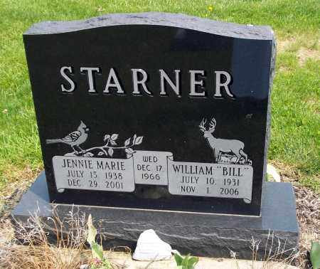 STARNER, JENNIE MARIE - Holmes County, Ohio | JENNIE MARIE STARNER - Ohio Gravestone Photos