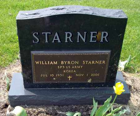 STARNER, WILLIAM BYRON - Holmes County, Ohio | WILLIAM BYRON STARNER - Ohio Gravestone Photos