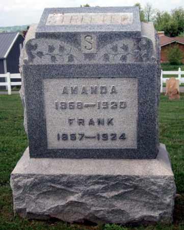 STREETER, FRANK - Holmes County, Ohio | FRANK STREETER - Ohio Gravestone Photos