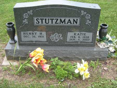 STUTZMAN, HENRY H - Holmes County, Ohio | HENRY H STUTZMAN - Ohio Gravestone Photos