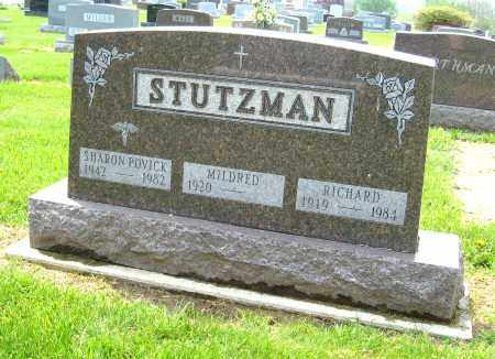 STUTZMAN, RICHARD - Holmes County, Ohio | RICHARD STUTZMAN - Ohio Gravestone Photos