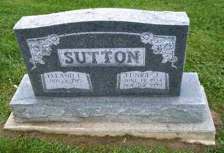 SUTTON, EUNICE J. - Holmes County, Ohio | EUNICE J. SUTTON - Ohio Gravestone Photos