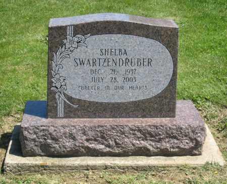 SWARTZENDRUBER, SHELBA - Holmes County, Ohio | SHELBA SWARTZENDRUBER - Ohio Gravestone Photos