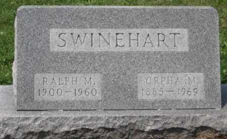 SWINEHART, ORPHA M - Holmes County, Ohio | ORPHA M SWINEHART - Ohio Gravestone Photos