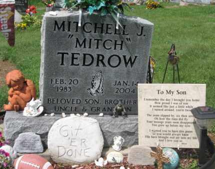 TEDROW, MITCHELL J - Holmes County, Ohio | MITCHELL J TEDROW - Ohio Gravestone Photos