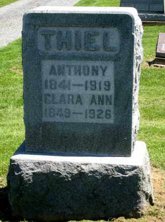 THIEL, ANTHONY - Holmes County, Ohio | ANTHONY THIEL - Ohio Gravestone Photos