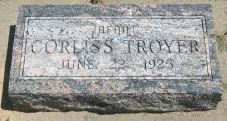 TROYER, CORLISS - Holmes County, Ohio | CORLISS TROYER - Ohio Gravestone Photos