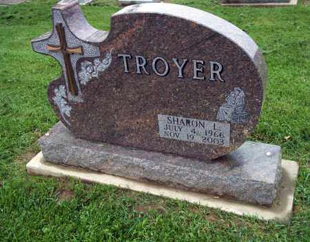 TROYER, SHARON L. - Holmes County, Ohio | SHARON L. TROYER - Ohio Gravestone Photos