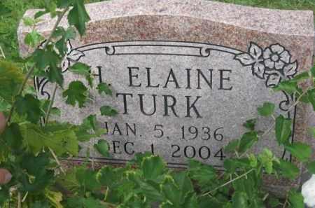 TURK, H. ELAINE - Holmes County, Ohio | H. ELAINE TURK - Ohio Gravestone Photos