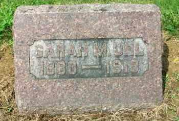 UHL, SARAH M - Holmes County, Ohio | SARAH M UHL - Ohio Gravestone Photos