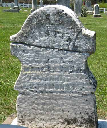 UNKNOWN, CHRISTIAN - Holmes County, Ohio | CHRISTIAN UNKNOWN - Ohio Gravestone Photos