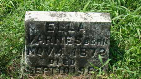 VARNES, ELLA - Holmes County, Ohio | ELLA VARNES - Ohio Gravestone Photos