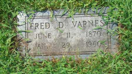 VARNES, FRED - Holmes County, Ohio | FRED VARNES - Ohio Gravestone Photos