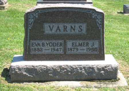 VARNS, ELMER J. - Holmes County, Ohio | ELMER J. VARNS - Ohio Gravestone Photos