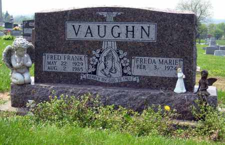VAUGHN, FRED FRANK - Holmes County, Ohio | FRED FRANK VAUGHN - Ohio Gravestone Photos