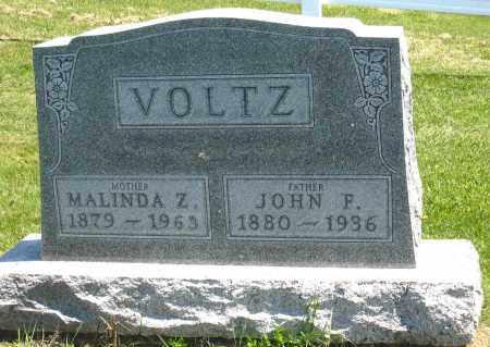 VOLTZ, JOHN F. - Holmes County, Ohio | JOHN F. VOLTZ - Ohio Gravestone Photos