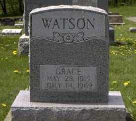 WATSON, GRACE - Holmes County, Ohio | GRACE WATSON - Ohio Gravestone Photos