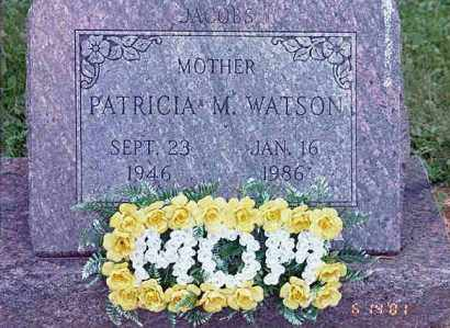 WATSON, PATRICIA MAXINE - Holmes County, Ohio | PATRICIA MAXINE WATSON - Ohio Gravestone Photos