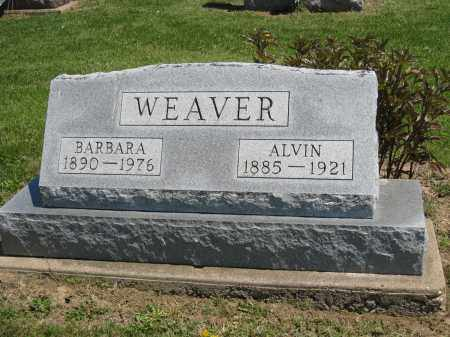 WEAVER, BARBARA - Holmes County, Ohio | BARBARA WEAVER - Ohio Gravestone Photos