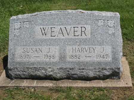 WEAVER, SUSAN J - Holmes County, Ohio | SUSAN J WEAVER - Ohio Gravestone Photos