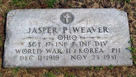 WEAVER, JASPER P - Holmes County, Ohio | JASPER P WEAVER - Ohio Gravestone Photos