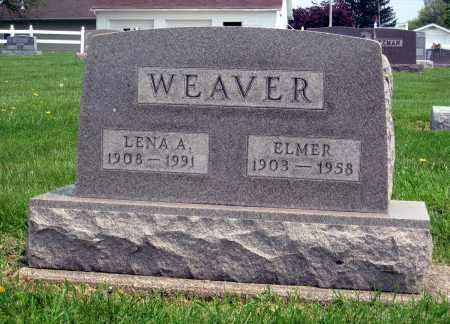 WEAVER, LENA A. - Holmes County, Ohio | LENA A. WEAVER - Ohio Gravestone Photos