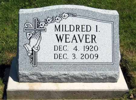 WEAVER, MILDRED I - Holmes County, Ohio | MILDRED I WEAVER - Ohio Gravestone Photos