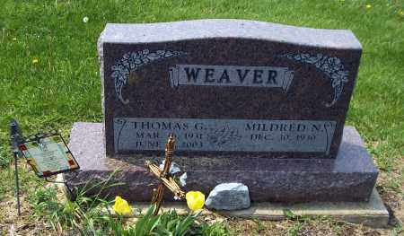 WEAVER, MILDRED S - Holmes County, Ohio | MILDRED S WEAVER - Ohio Gravestone Photos