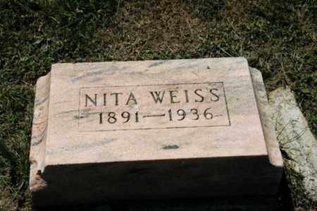 WEISS, NITA - Holmes County, Ohio | NITA WEISS - Ohio Gravestone Photos