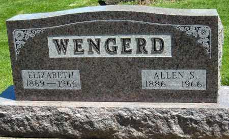 WENGERD, ELIZABETH - Holmes County, Ohio | ELIZABETH WENGERD - Ohio Gravestone Photos