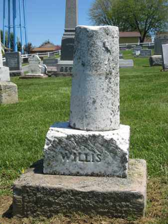 WILLIS, UNKNOWN - Holmes County, Ohio | UNKNOWN WILLIS - Ohio Gravestone Photos