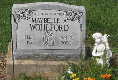WOHLFORD, MAYBELLE A. - Holmes County, Ohio | MAYBELLE A. WOHLFORD - Ohio Gravestone Photos