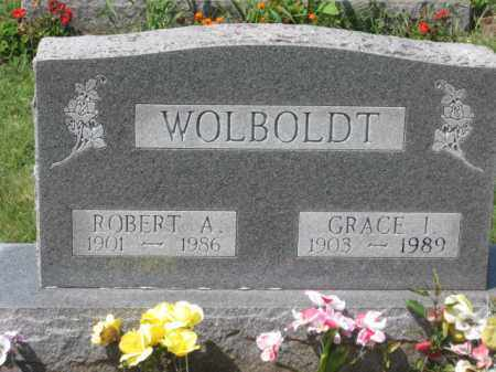 WOLBOLDT, ROBERT A. - Holmes County, Ohio | ROBERT A. WOLBOLDT - Ohio Gravestone Photos