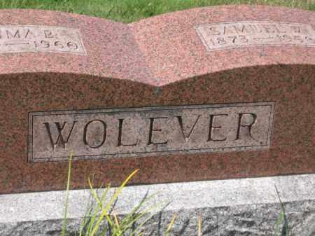 WOLEVER, SAMUEL W. - Holmes County, Ohio | SAMUEL W. WOLEVER - Ohio Gravestone Photos
