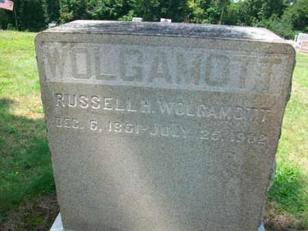WOLGAMOTT, RUSSELL H. - Holmes County, Ohio | RUSSELL H. WOLGAMOTT - Ohio Gravestone Photos