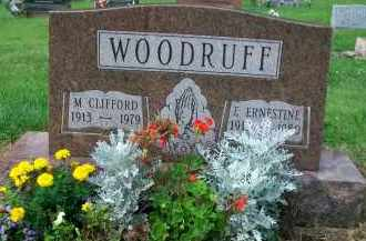 WOODRUFF, M. CLIFFORD - Holmes County, Ohio | M. CLIFFORD WOODRUFF - Ohio Gravestone Photos