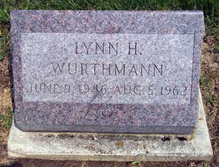 WURTHMANN, LYNN H. - Holmes County, Ohio | LYNN H. WURTHMANN - Ohio Gravestone Photos