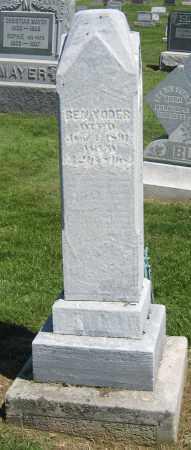 YODER, BEN - Holmes County, Ohio | BEN YODER - Ohio Gravestone Photos