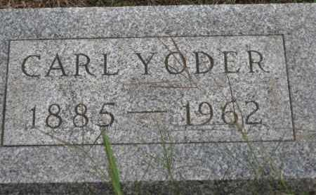 YODER, CARL - Holmes County, Ohio | CARL YODER - Ohio Gravestone Photos