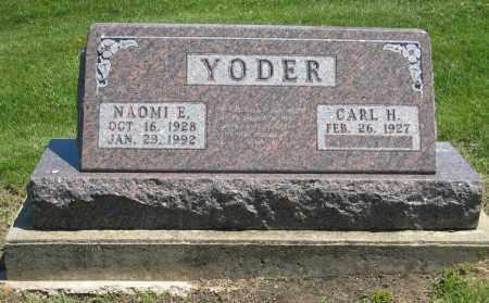 YODER, CARL H - Holmes County, Ohio | CARL H YODER - Ohio Gravestone Photos