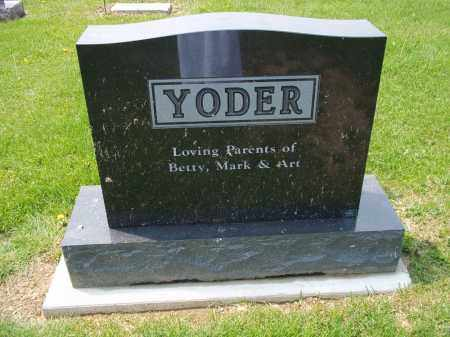 YODER, BETTY - Holmes County, Ohio | BETTY YODER - Ohio Gravestone Photos