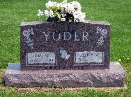 YODER, HENRY A. - Holmes County, Ohio | HENRY A. YODER - Ohio Gravestone Photos
