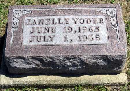 YODER, JANELLE - Holmes County, Ohio | JANELLE YODER - Ohio Gravestone Photos