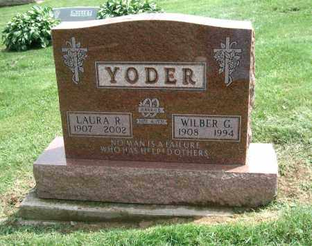 YODER, LAURA R. - Holmes County, Ohio | LAURA R. YODER - Ohio Gravestone Photos