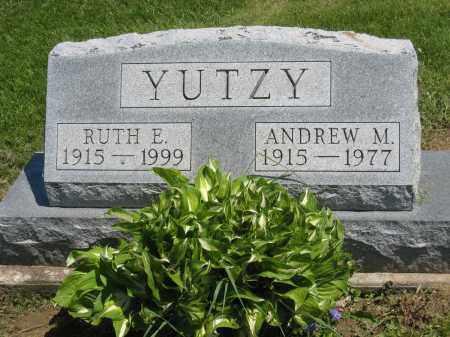 YUTZY, ANDREW M - Holmes County, Ohio | ANDREW M YUTZY - Ohio Gravestone Photos