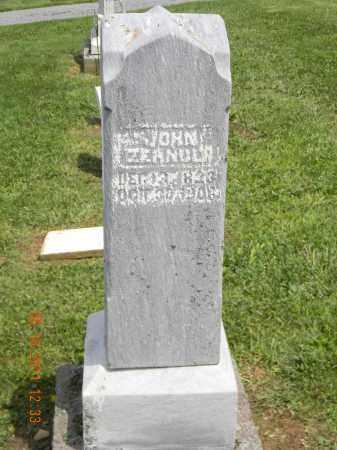 ZEHNDER, JOHN - Holmes County, Ohio | JOHN ZEHNDER - Ohio Gravestone Photos
