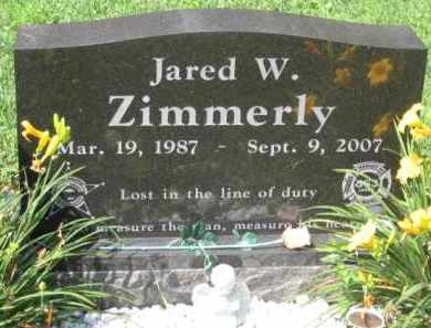 ZIMMERLY, JARRED W. - Holmes County, Ohio | JARRED W. ZIMMERLY - Ohio Gravestone Photos