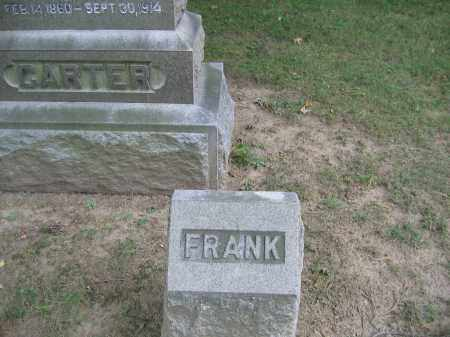 CARTER, FRANK LESLIE - Huron County, Ohio | FRANK LESLIE CARTER - Ohio Gravestone Photos